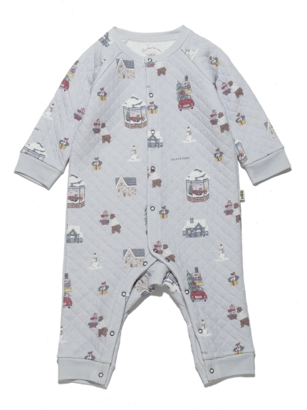 【BABY】ウィンター baby ロンパース
