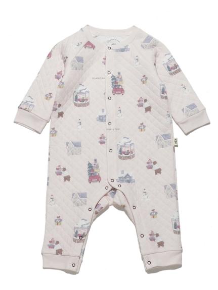 【BABY】ウィンター baby ロンパース(PNK-70)