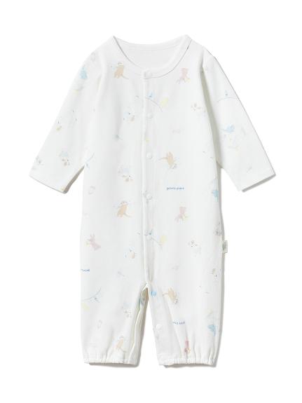 【BABY】【新生児】アニマルバスタイム2wayオール(OWHT-50)