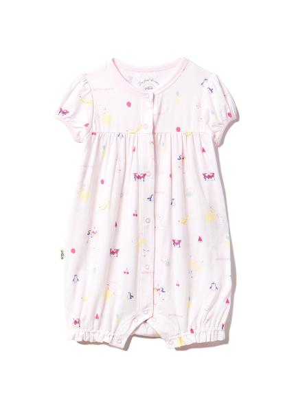 【BABY】シロクマフルーツ baby ロンパース