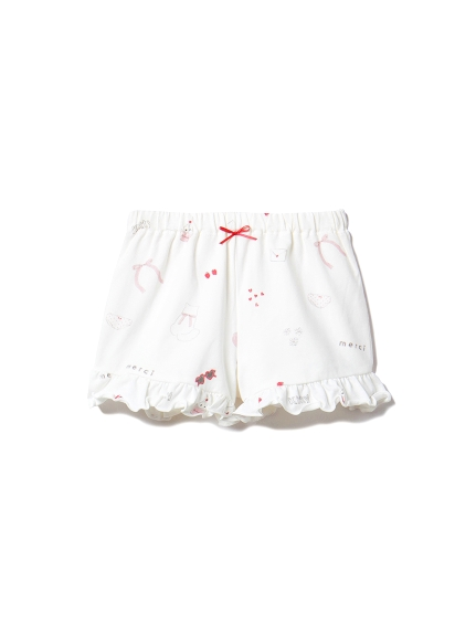 【BABY】ガールズモチーフ baby ショートパンツ