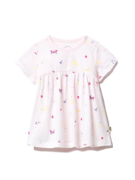 【BABY】シロクマフルーツ baby Tシャツ