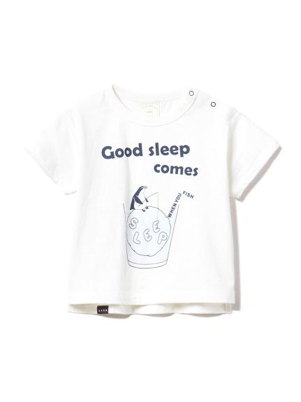 【BABY】アニマルワンポイント baby Tシャツ(OWHT-70)