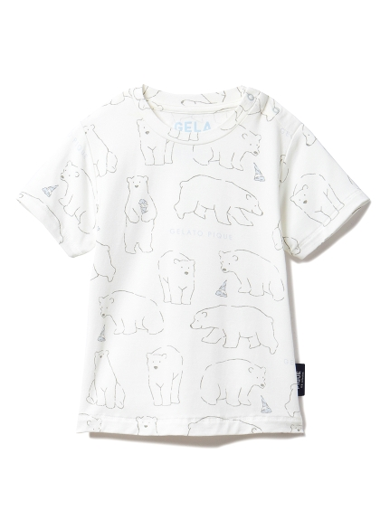 【BABY】【シロクマフェア】冷感 baby Tシャツ