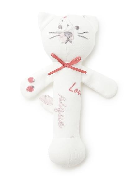 【BABY】ガールズモチーフ baby ガラガラ(OWHT-F)