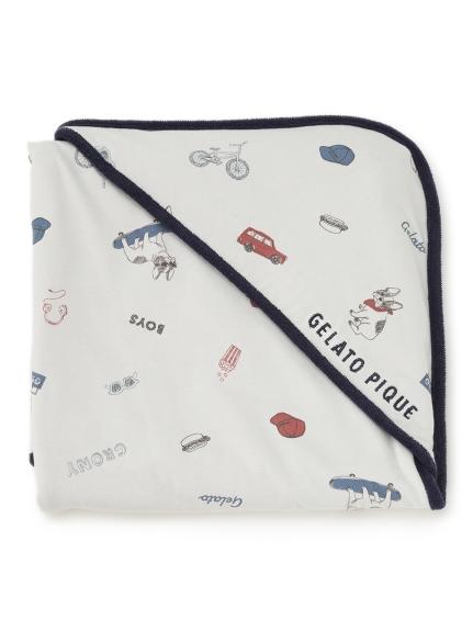 【BABY】ボーイズモチーフ baby ブランケット(OWHT-F)