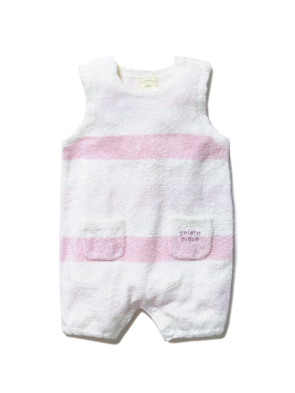 【BABY】'スムーズィー'グラデーションボーダー baby ロンパース