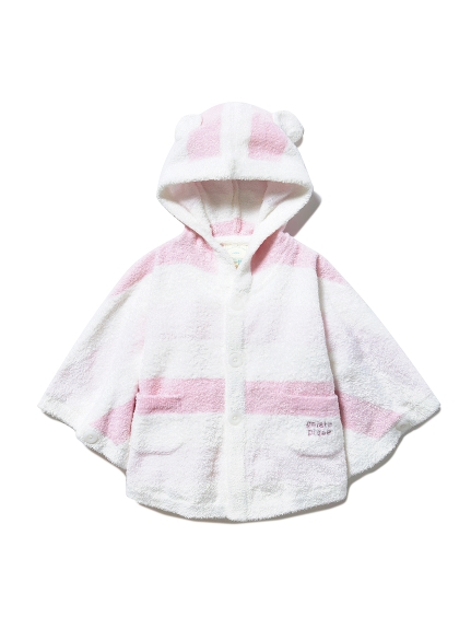 【BABY】'スムーズィー'グラデーションボーダー baby ポンチョ