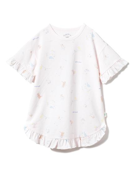 【KIDS】アニマルバスタイムkidsドレス(PNK-XXS)