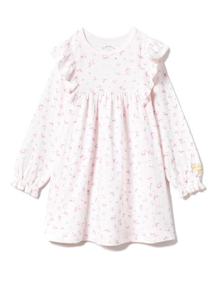【KIDS】フラワースワンkidsドレス