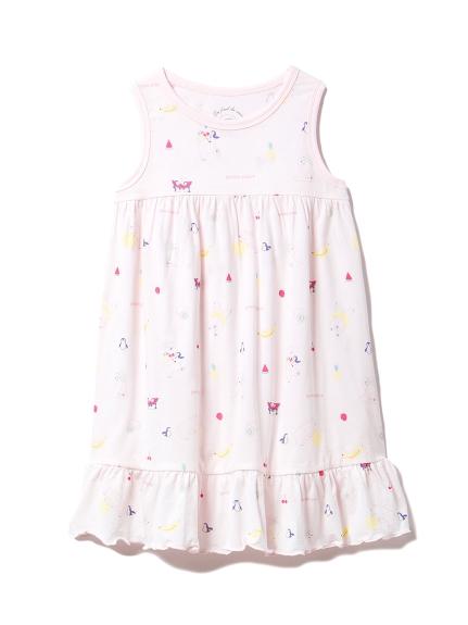 【KIDS】シロクマフルーツ kids ドレス(PNK-XXS)