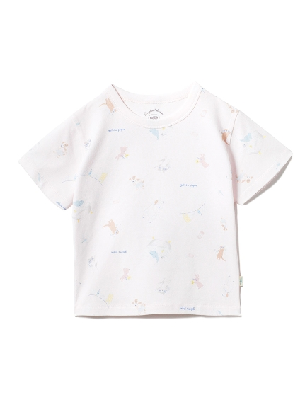 【KIDS】アニマルバスタイムkidsTシャツ