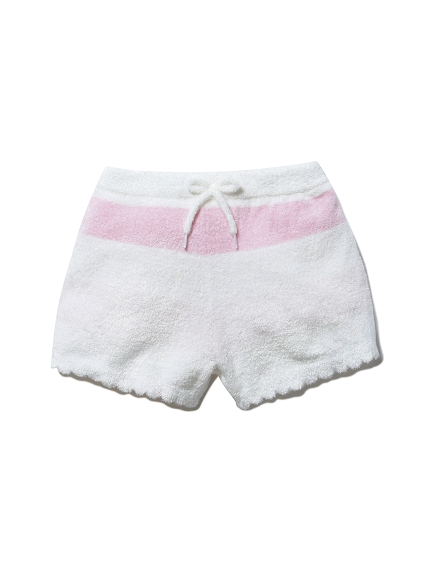 【KIDS】'スムーズィー'グラデーションボーダー kids ショートパンツ(PNK-XXS)
