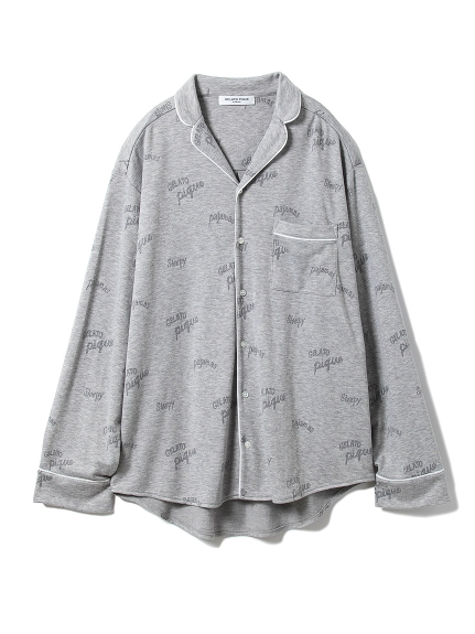 【GELATOPIQUEHOMME】ロゴモダールシャツ(GRY-M)