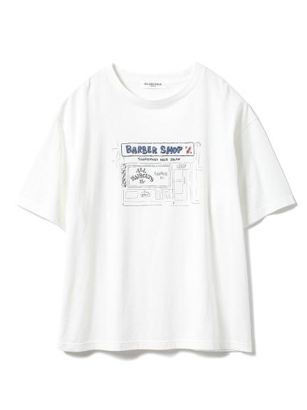【GELATOPIQUEHOMME】レーヨンロゴTシャツ_