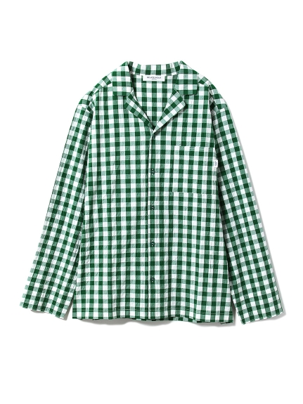 【GELATOPIQUEHOMME】ギンガムチェックシャツ_