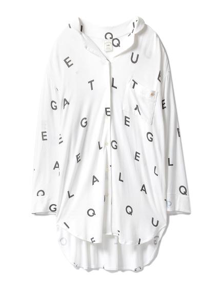 アルファベットビッグシャツ