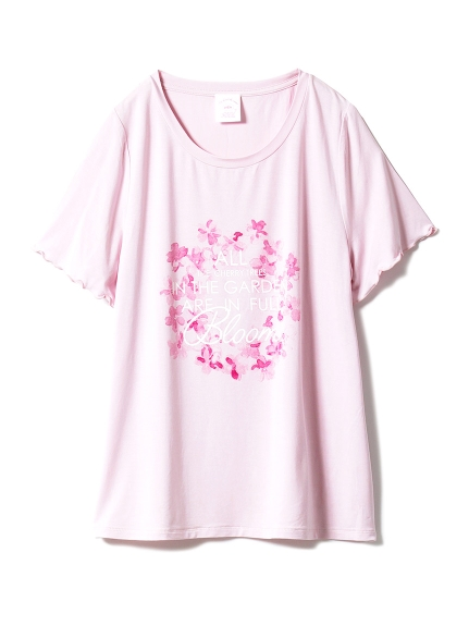 【SAKURA FAIR】チェリーブロッサムワンポイントTシャツ_