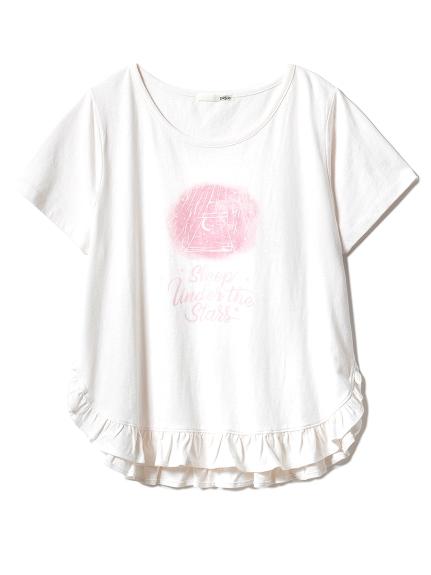 グッドナイトフリルTシャツ(PNK-F)