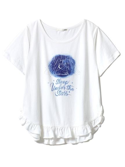 グッドナイトフリルTシャツ(NVY-F)