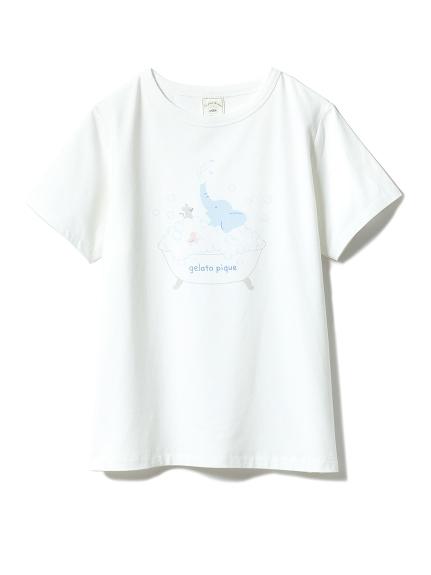 アニマルバスタイムワンポイントTシャツ(OWHT-F)