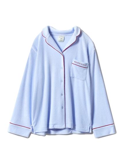 ミニパイルシャツ(BLU-F)