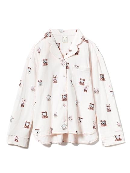 アニマルアイマスクシャツ(PNK-F)