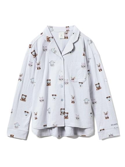 アニマルアイマスクシャツ(BLU-F)