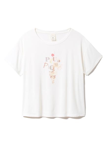 アイスクリームワンポイントTシャツ(OWHT-F)