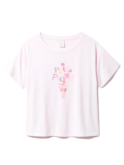 アイスクリームワンポイントTシャツ(PNK-F)