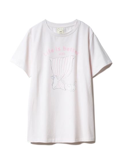 アニマルピローワンポイントTシャツ
