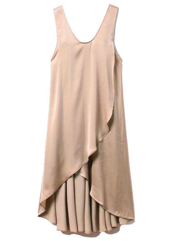 サマーサテンドレス