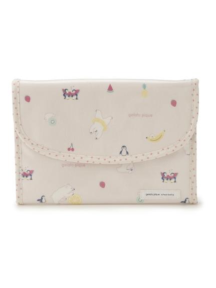 シロクマフルーツジャバラ母子手帳ケース