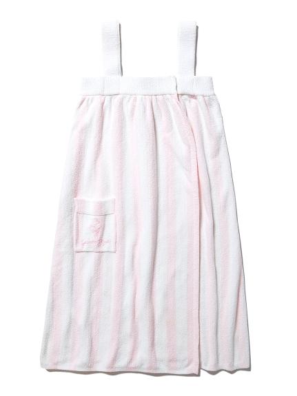 'アクアドライ'ストライプバスドレス