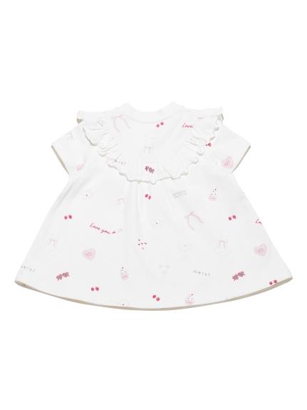 7bd643b38bbc2 【BABY】ガールズモチーフ baby Tシャツ(トップス) ルームウェア・パジャマ通販のgelatopique(ジェラートピケ)公式サイト